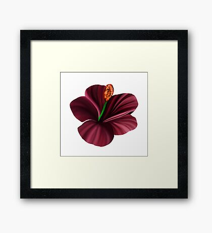 Best Fantasy Flower 2 Framed Print