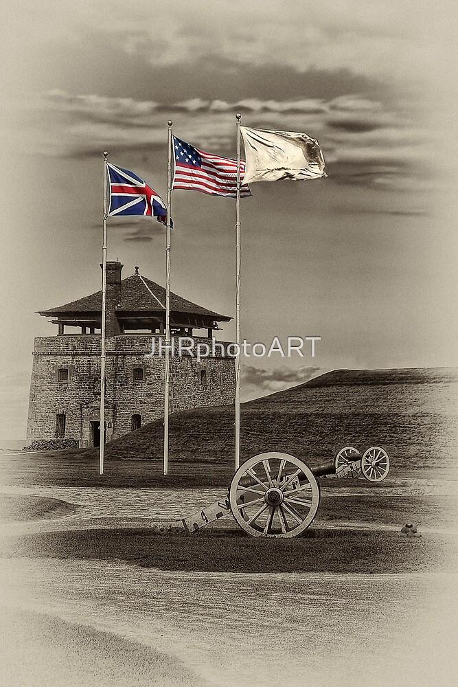 Fort Niagara's Flags by JHRphotoART