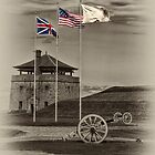 Fort Niagara's Flags by JHRphotoART
