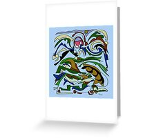 The sign of the Fish Greeting Card
