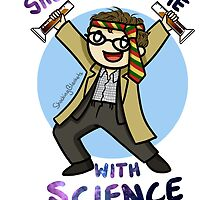 She Blinded Me With Science! by shockingblanket