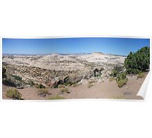 Overlooking Calf Creek  Poster