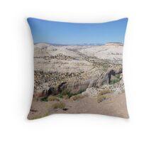 Overlooking Calf Creek  Throw Pillow