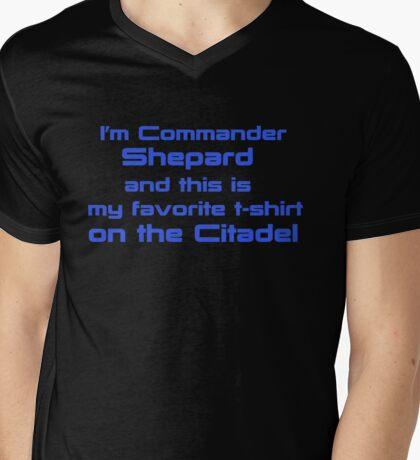 Commander Shepard Favorite Mens V-Neck T-Shirt