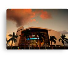 Scenes from Miami VII Canvas Print
