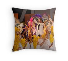 Carnival singers and Dancers - Argentina Throw Pillow