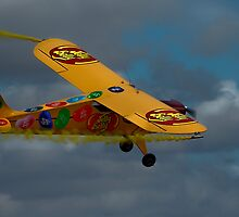 Yellow Jelly Belly Aircraft by JohnKarmouche