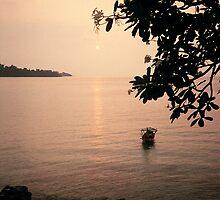 Sunset, Kompong Som by RobAllsop