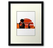 Samurai Champloo Framed Print
