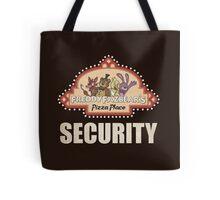 Five Nights at Freddy's Freddy Fazbear's Security Logo Tote Bag