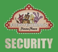 Five Nights at Freddy's Freddy Fazbear's Security Logo Kids Clothes
