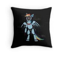 My Little Pony - MLP - FNAF - Rainbow Dash Animatronic Throw Pillow