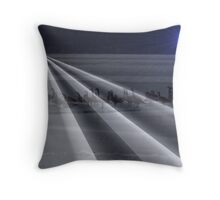 Canadian geese at night. Throw Pillow