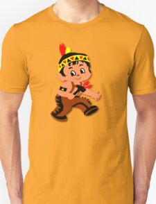 Cute retro Kid Billy as a Native Indian T-Shirt