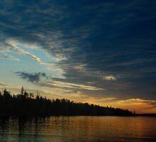 Big Sky - Isle Royale National Park by Mark Heller