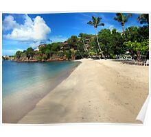 Lance aux Epines Beach, Grenada. Poster