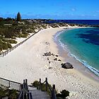 Pinky's Beach - Rottnest Island, Western Australia by Heather Linfoot