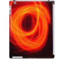 Orange Overlap iPad Case/Skin
