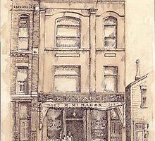 McMahon's Hall c. 1910 by Alice McMahon