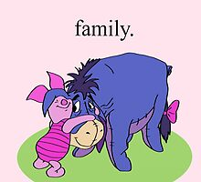 Eeyore and Piglet by janosliam