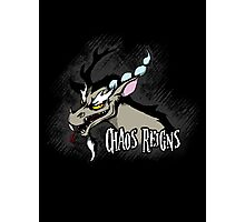 My Little Pony Discord - Chaos Reigns Photographic Print