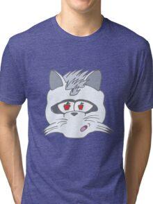 Raccoon Covet Design Tri-blend T-Shirt