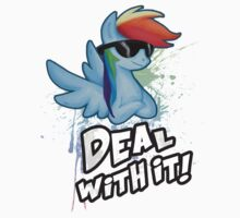 My Little Pony Rainbow Dash - Deal With It Kids Clothes
