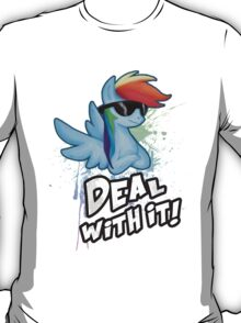 My Little Pony Rainbow Dash - Deal With It T-Shirt
