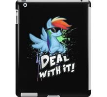 My Little Pony Rainbow Dash - Deal With It iPad Case/Skin