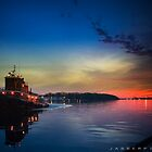 the little tugboat in savannah by jabberpics