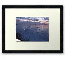 Lake Winnie Framed Print