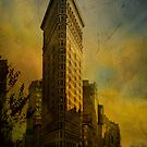 Flat Iron Building - My Take on it.... by Jeff Burgess