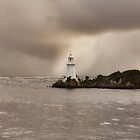 Lighthouse at Hells Gates by Claire Walsh