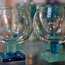 Hand blown glass by Heather Thorsen