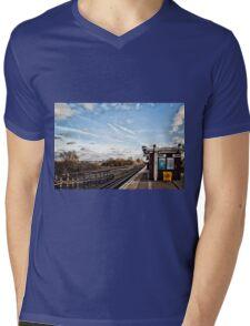 Ruislip Gardens Tube Market Mens V-Neck T-Shirt
