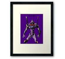 Neon Genesis Evangelion - EVA 01 Framed Print
