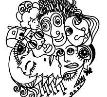 Doodle 3 by Anni Morris