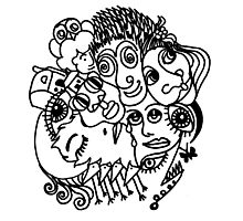Doodle 3 Photographic Print