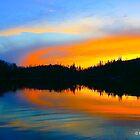 Lake On Fire by Mark David Barrington