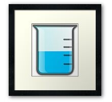 Beaker Science Framed Print