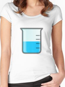 Beaker Science Women's Fitted Scoop T-Shirt