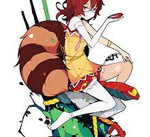 Touhou - Mamizou Futatsuiwa by Whitedark