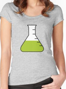 Flask Science Women's Fitted Scoop T-Shirt