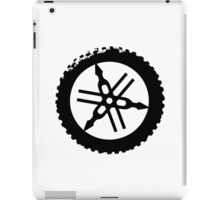 Dirt Bike Fan RIDE ON iPad Case/Skin