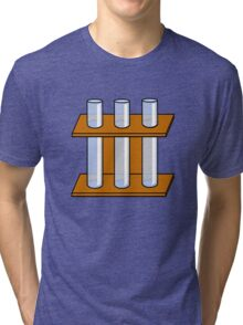 Chemistry Tubes Tri-blend T-Shirt