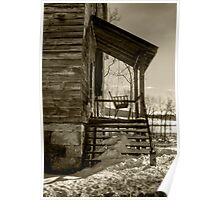 THE OLD PORCH SWING Poster