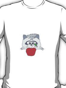 Raccoon Thief Design T-Shirt