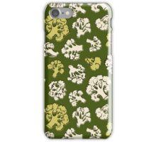 Pattern with cauliflower iPhone Case/Skin