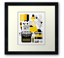 Creative Writing Framed Print