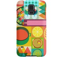 Wondercook Food Kitchen Pattern Samsung Galaxy Case/Skin